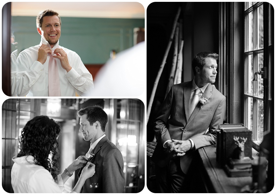 Groom Portraits at Lord Thompson Mannor