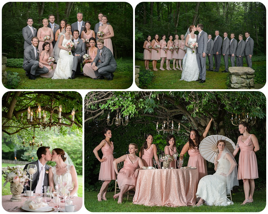Wedding Party Photos - Lord Thompson Manor