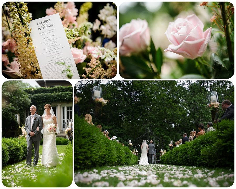Wedding Ceremony - Lord Thompson Manor