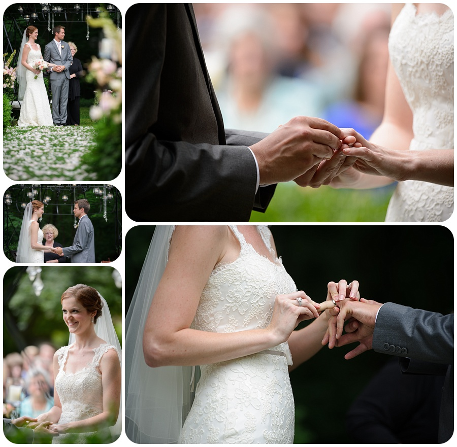Outdoor Ceremony - Lord Thompson Manor