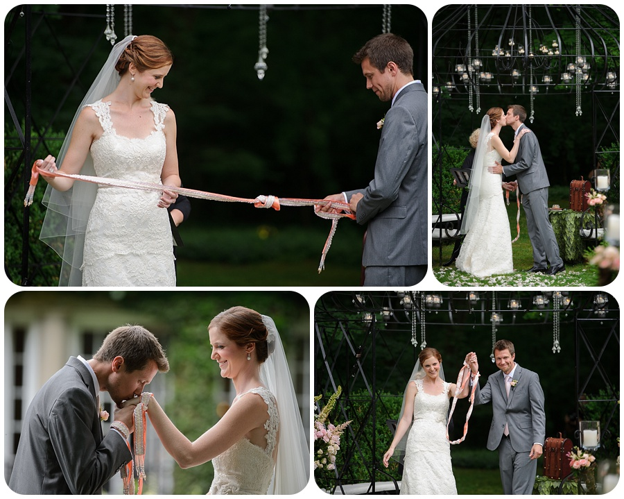 Tying the knot - Lord Thompson Manor