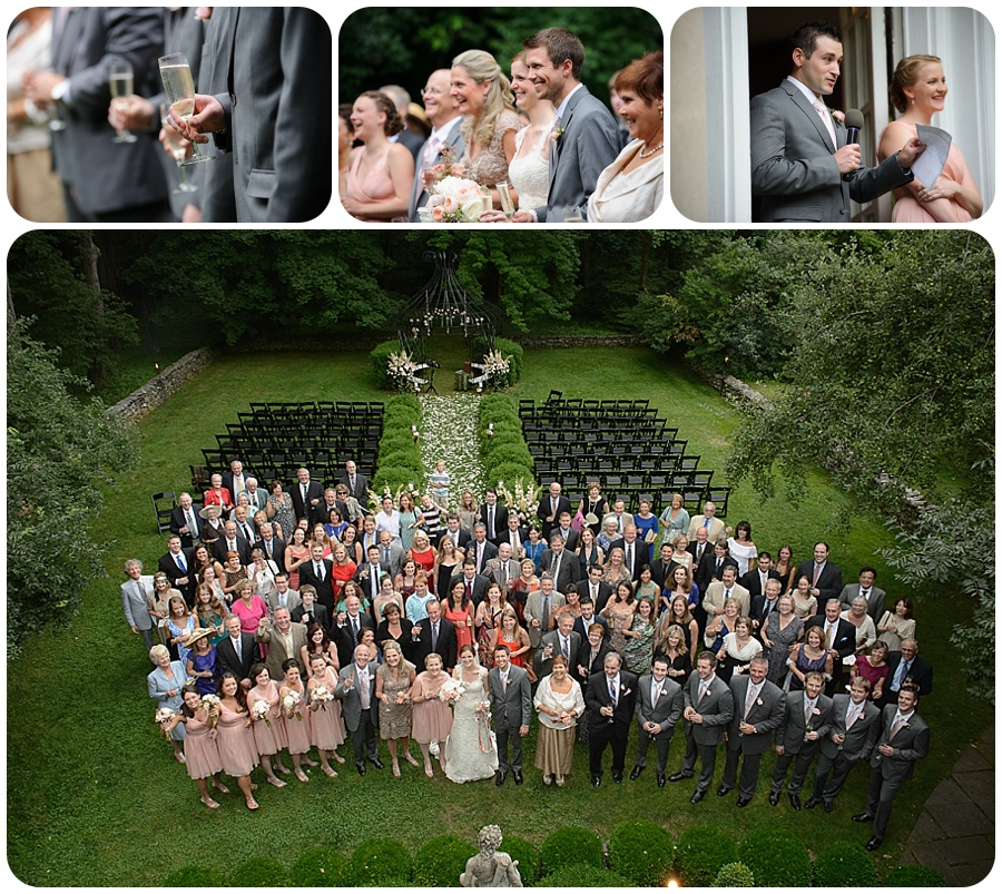 Entire wedding photo - Lord Thompson Manor