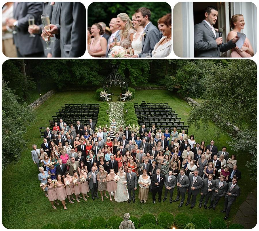 Entire wedding photo - Lord Thompson Manor