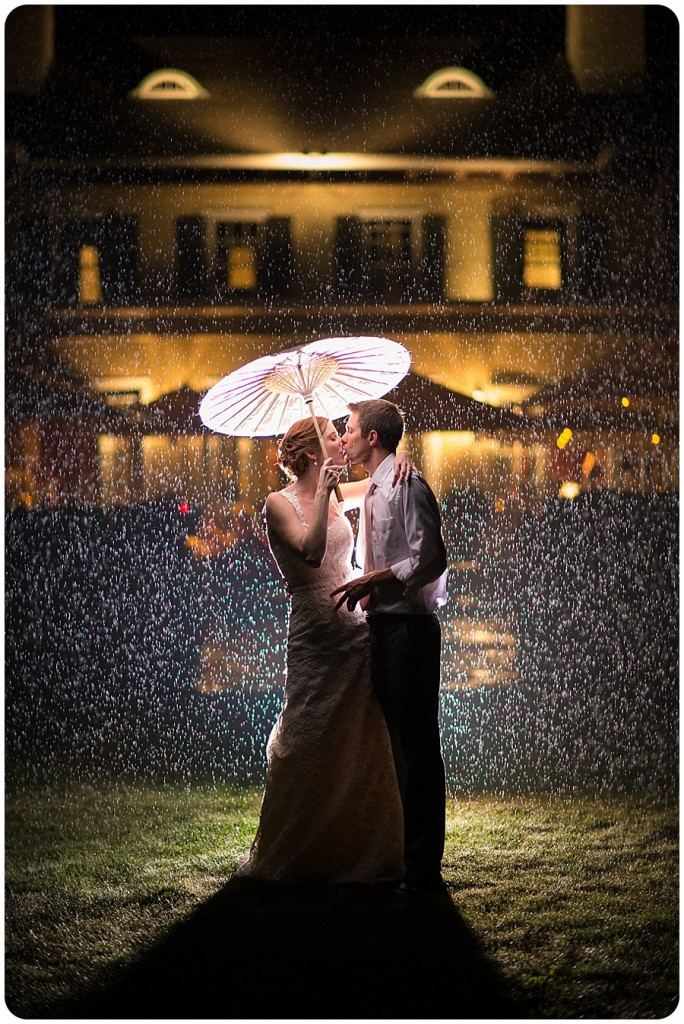Kissing in the Rain - Lord Thompson Manor