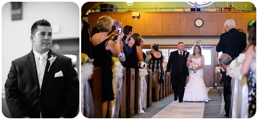 Blessed Sacrament Parish Wedding - Processional