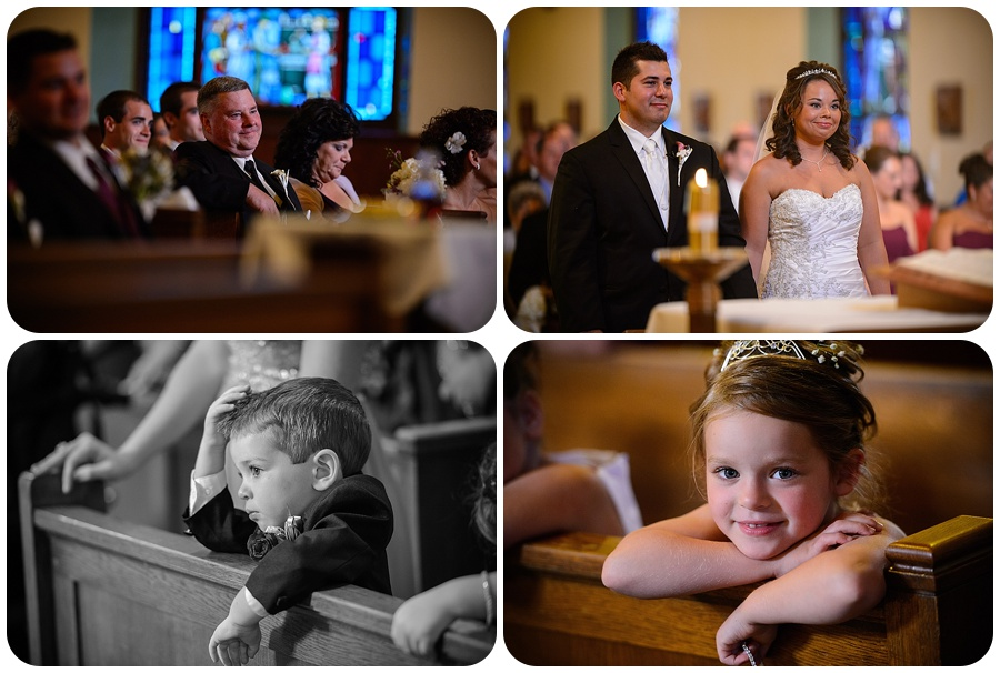 Blessed Sacrament Parish Wedding Ceremony