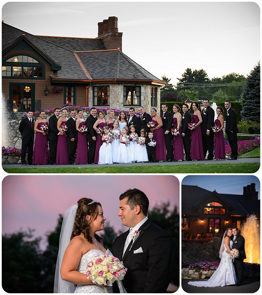 Tewksbury Country Club Wedding - Formal Photos