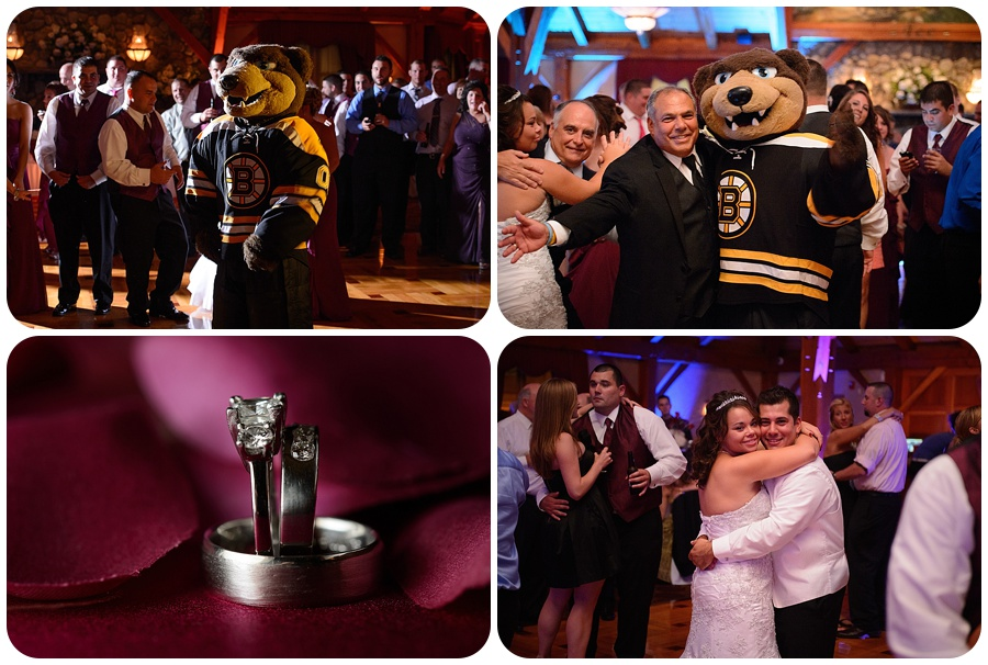 Tewksbury Country Club Wedding - Blades the Bruin